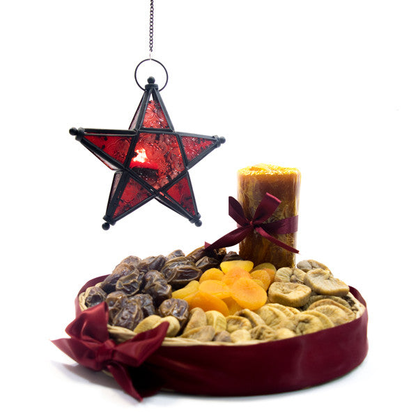 Star Dried fruit tray