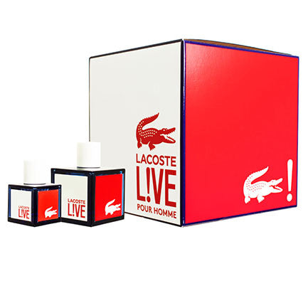 live gift set by lacoste 100ml & 40ml