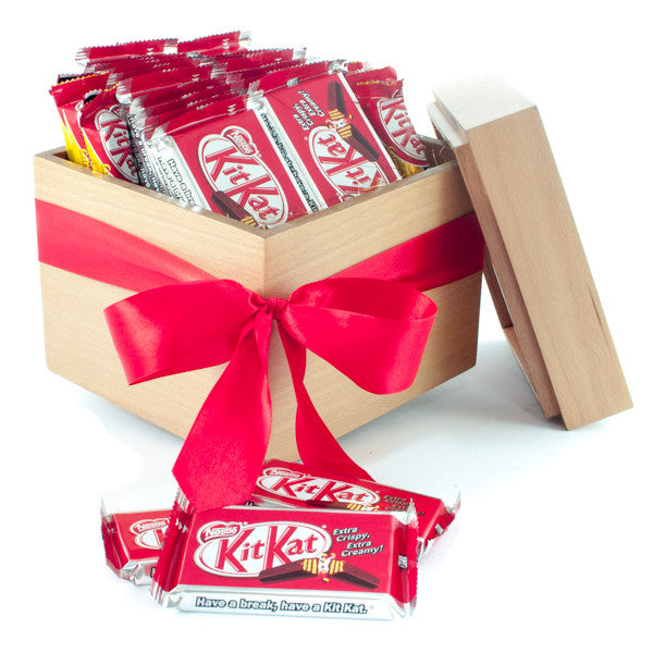 Kit Kat® 4 Finger Cubic gift box