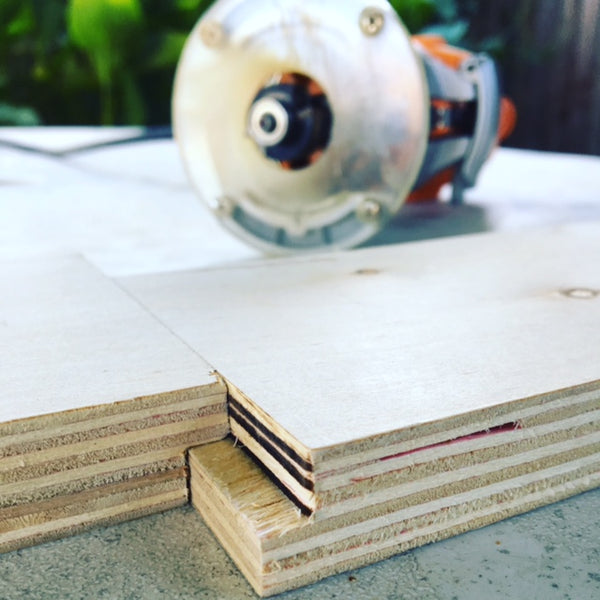 3/4 inch rabbet joint plywood