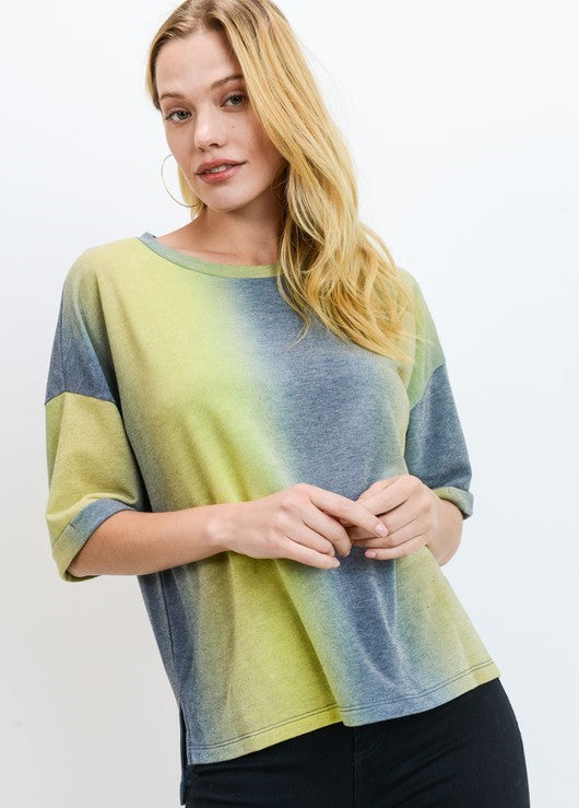 FRENCH TERRY OMBRE T