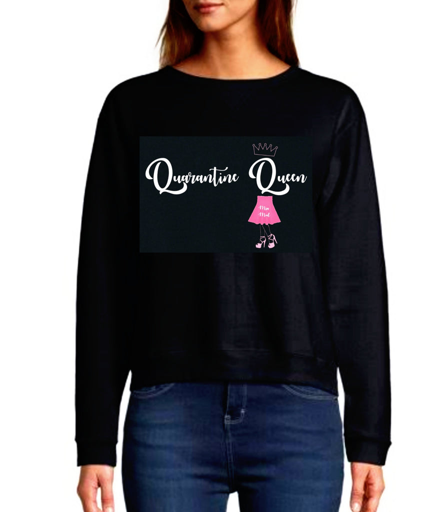 QUARANTINE QUEEN SWEATER