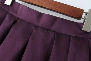 PLEATED ALINE SKIRT