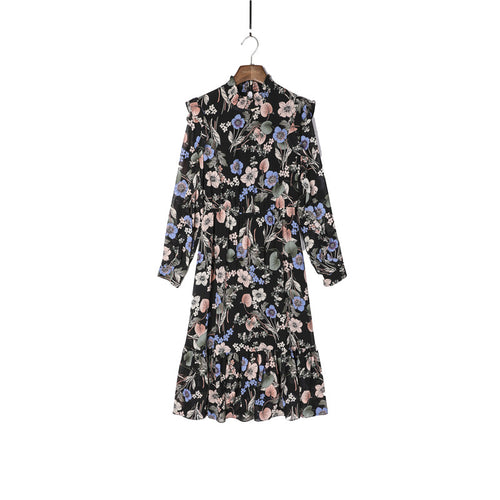 SHIFFY FLORAL DRESS