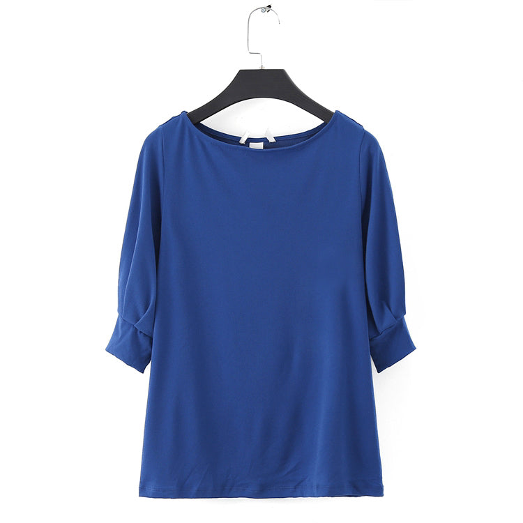 ROYAL BLUE STRETCH TSHIRT