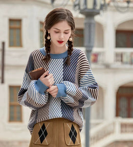 STRIPES ALL OVER SWEATER