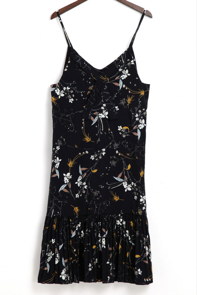 FLORAL YEAR ROUND SLIP DRESS