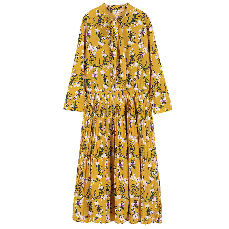 YELLOW BLOSSOM DRESS