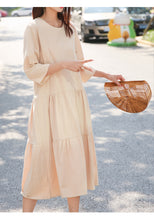 GAUZE COTTON SUMMER DRESS