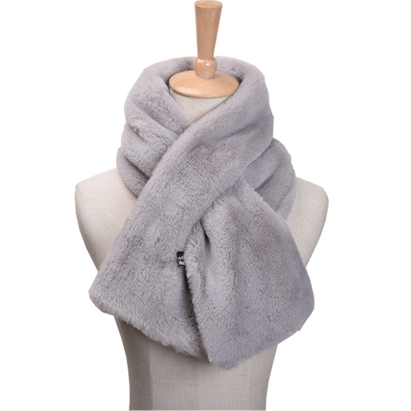 Fur Scarf Neck Wrap
