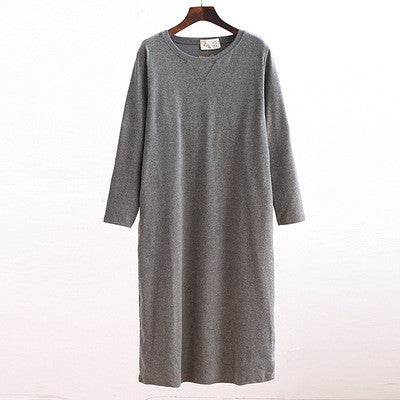 BASIC TSHIRT DRESS - Mia Mod