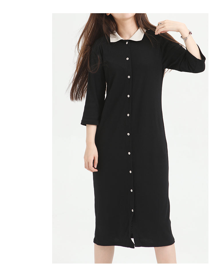 Diana Ribbed Cardi Dress