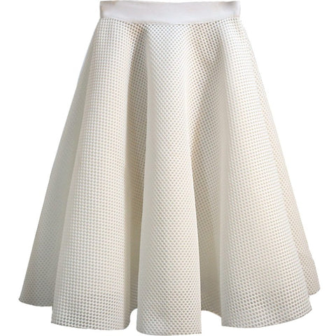 Couture Style Mesh Skirt