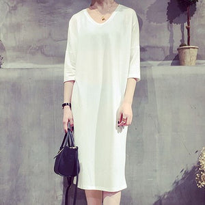 Batwing Tshirt Dress