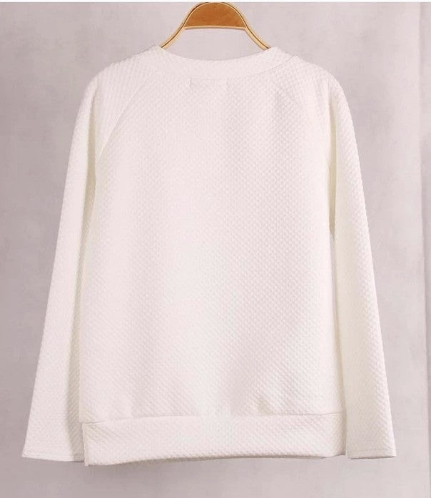 Light Weight Zipper Sweater