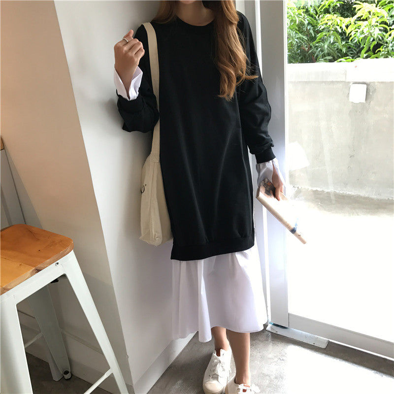 BF Sweater Shirt Dress
