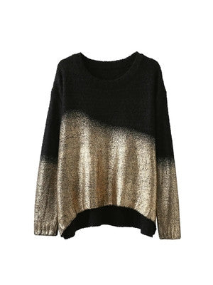 Ombre Sparkle Sweater