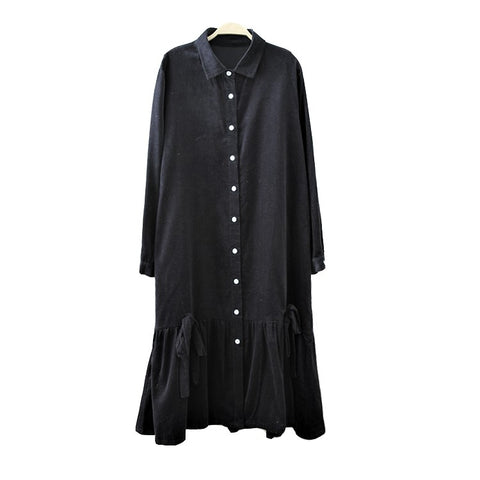 Shirt Dress With Bows