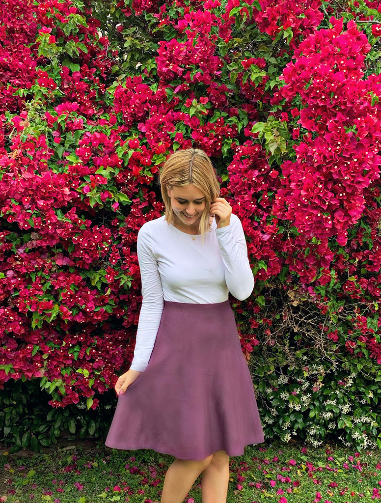 AMAZING MM SKIRT - YEAR ROUND ANTIQUE PURPLE - Mia Mod