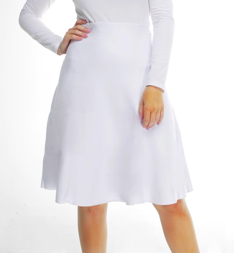 AMAZING MM SUMMER WHITE SKIRT - Mia Mod