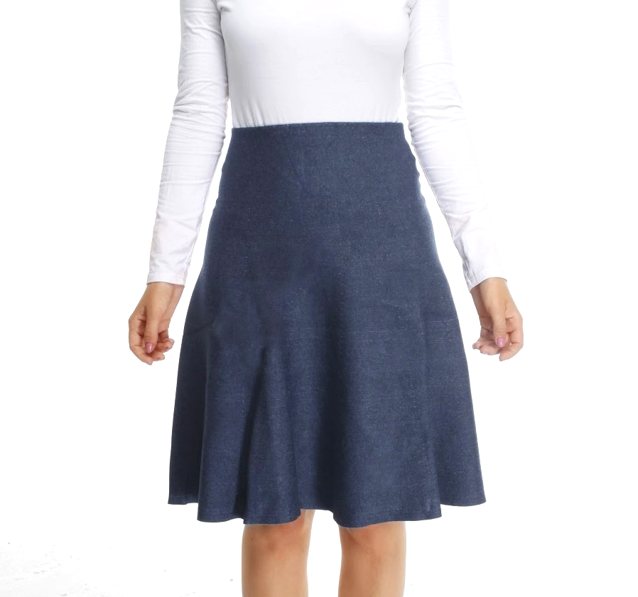Amazing MM Skirt - Year Round Medium Denim Wash