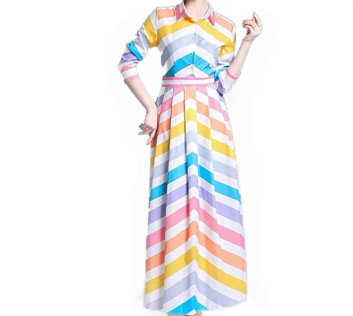 CANDY STRIPE MAXI