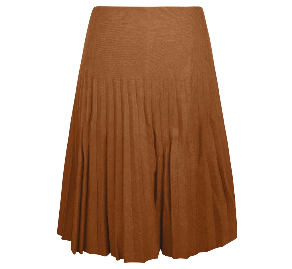 MM YEAR ROUND PLEATED - CAMEL