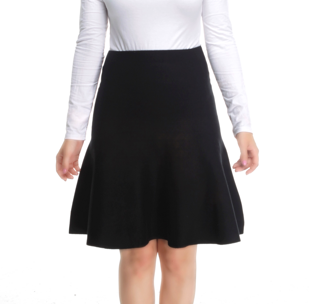 AMAZING MM SKIRT - YEAR ROUND BLACK - Mia Mod