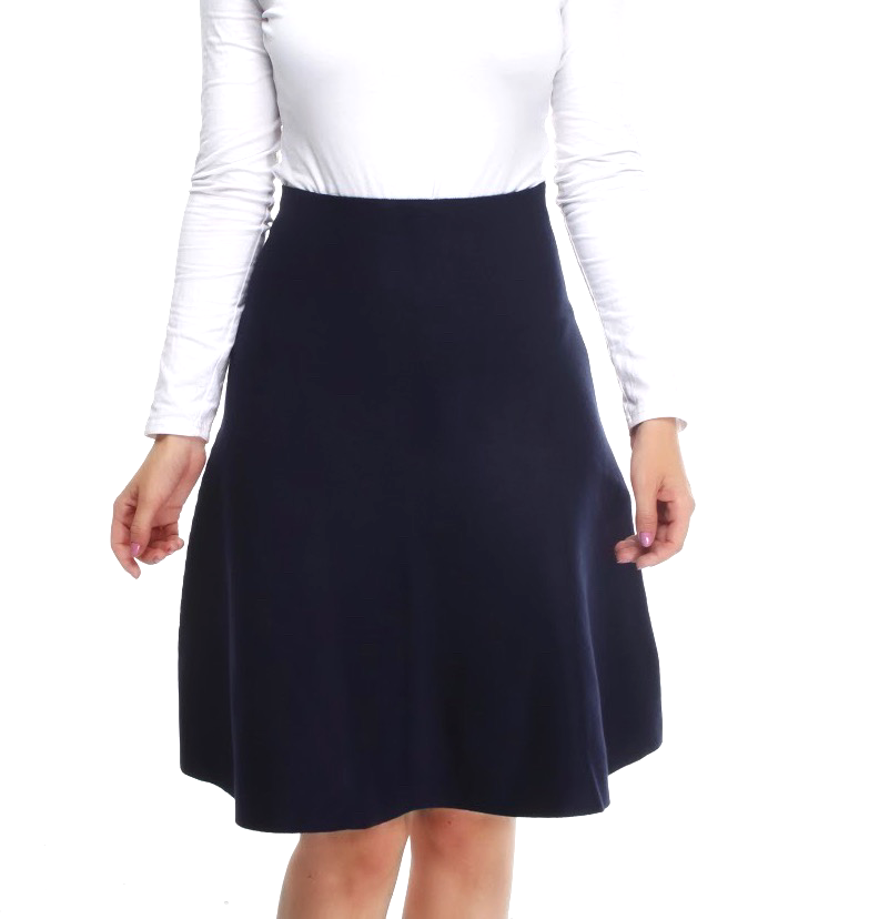 **NEW** AMAZING MM SKIRT - YEAR ROUND NAVY - Mia Mod