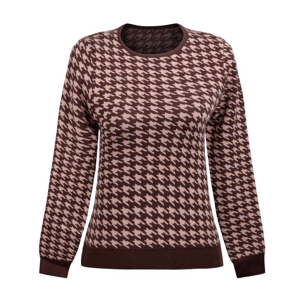 MM HOUNDSTOOTH SWEATER