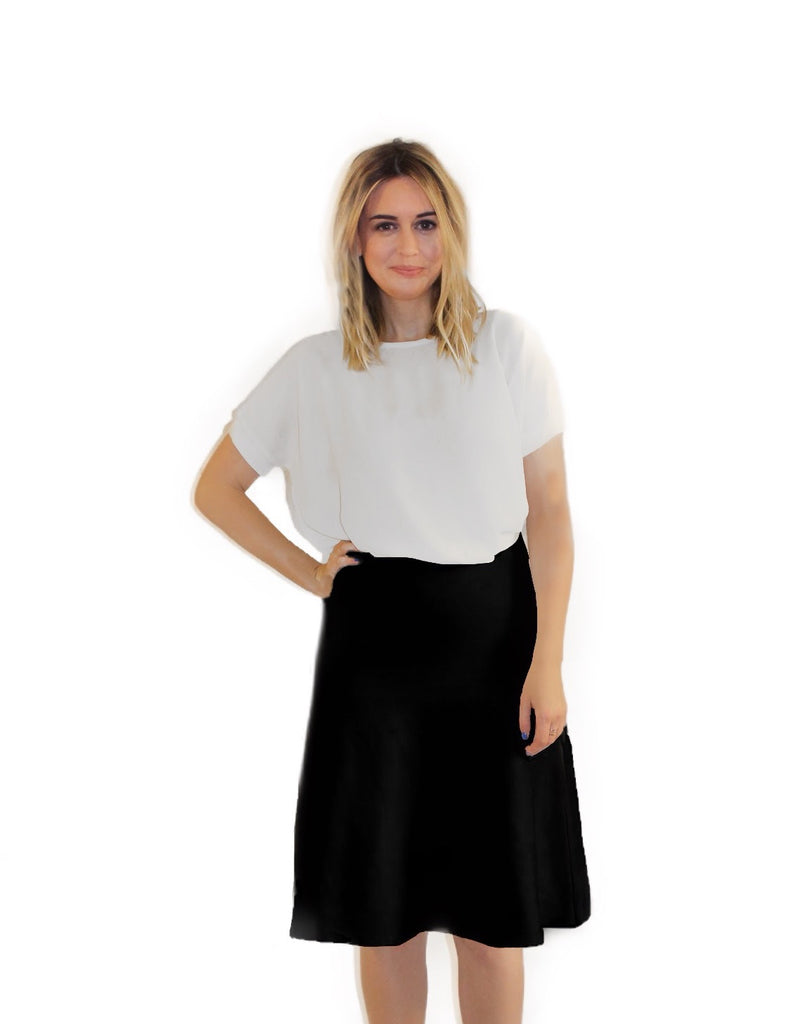 AMAZING MM SUMMER BLACK SKIRT - Mia Mod