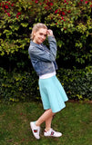 AMAZING MM SKIRT -  MINT - Mia Mod