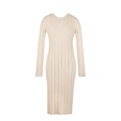 Body Con Ribbed Sweater Dress