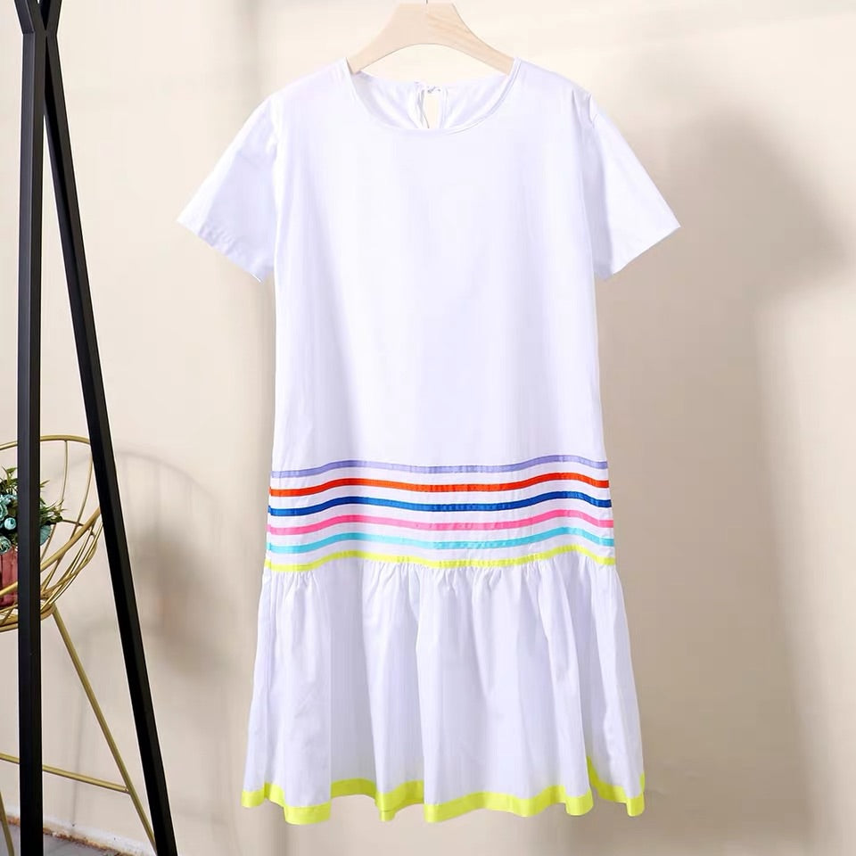 CUTE COTTON FESTIVE DRESS