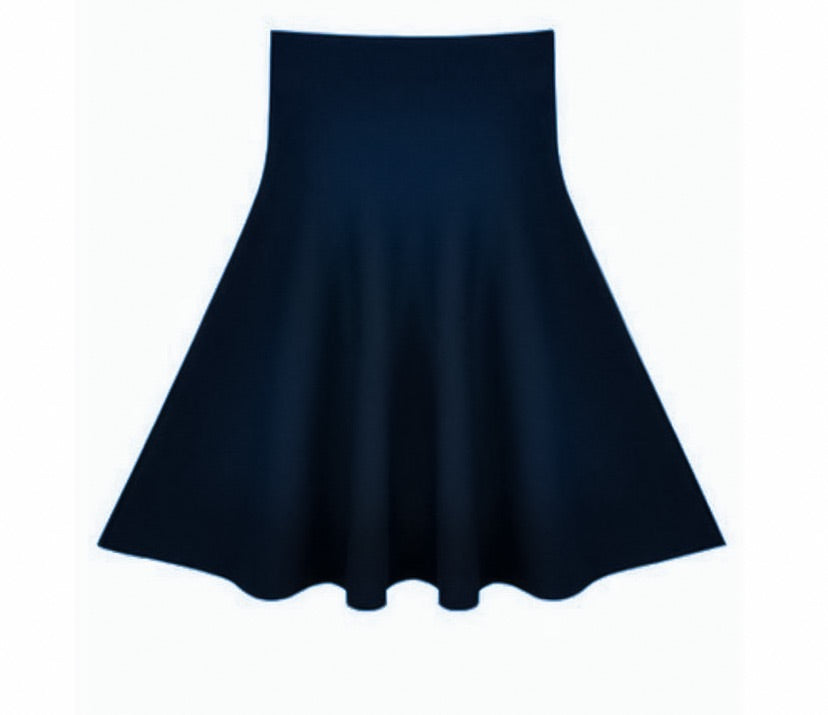 **NEW** AMAZING MM SKIRT - YEAR ROUND NAVY