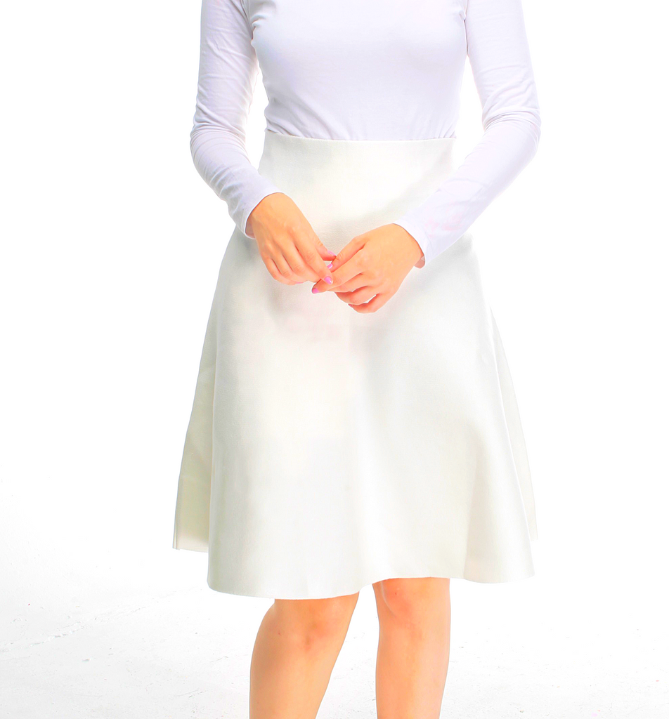 Amazing MM Skirt - Year Round Winter White