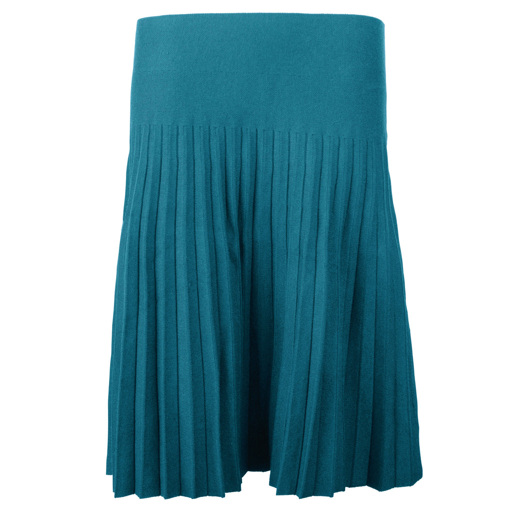 MM YEAR ROUND PLEATED - PEACOCK