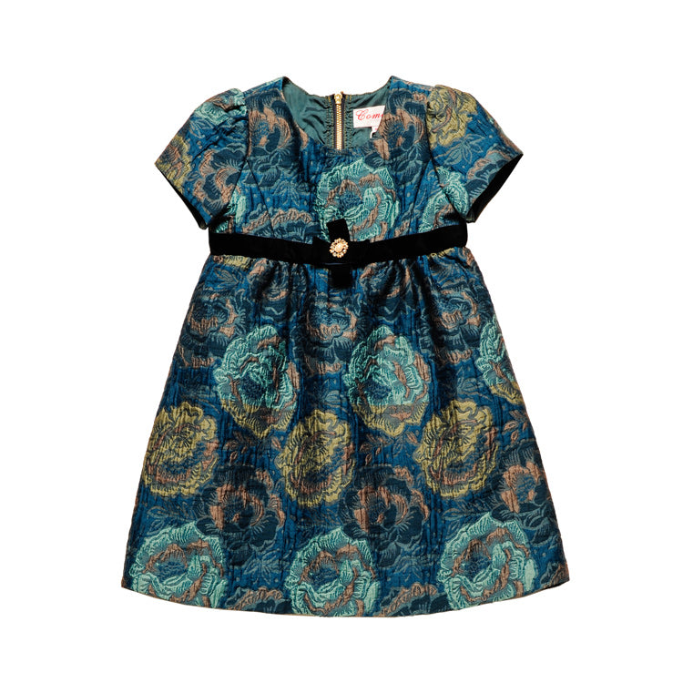 RK BETTINA JACQUARD DRESS