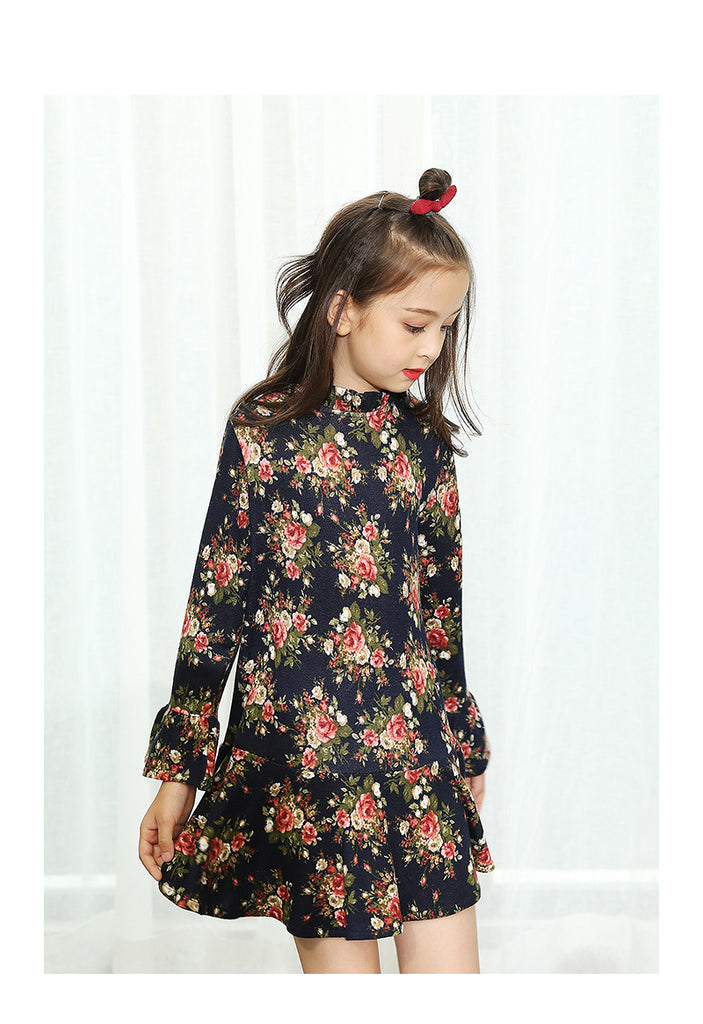 RK Divine Knit Floral Dress