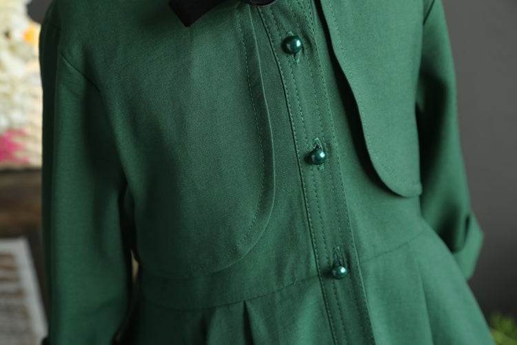 RK EMERALD LITTLE LADY TRENCH DRESS
