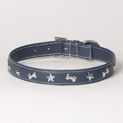Soft Napa Leather Dog Collar