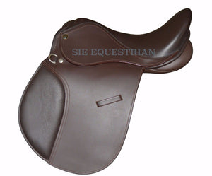 SIE English jumping leather horse saddles all sizes colors
