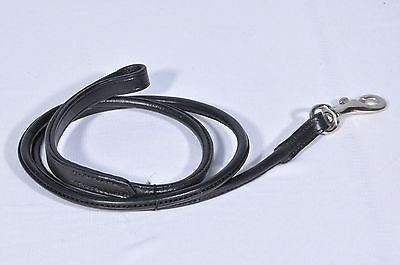 Rolled Leather Dog Leads