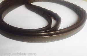 SIE Empty channel leather reins braided - all colors and size