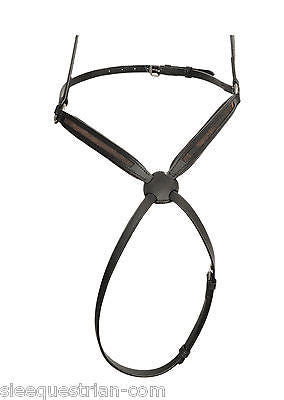 SIE 3 Empty channel Figure 8 / grackle leather noseband - all sizes colors 8 mm