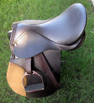SIE Training Leather saddle