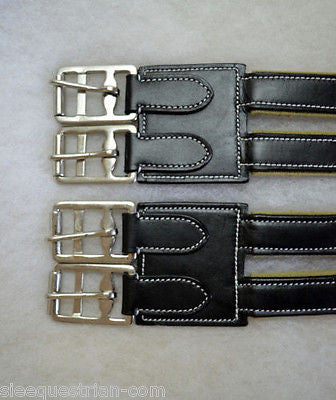 Lot of 10 New USA LEATHER Girth Extenders from SIE