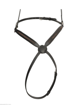 Qty 3 Empty channel Figure 8 grackle leather horse nosebands 8 mm CHRISTMAS SALE