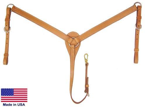 Skirting Leather Breast Collar