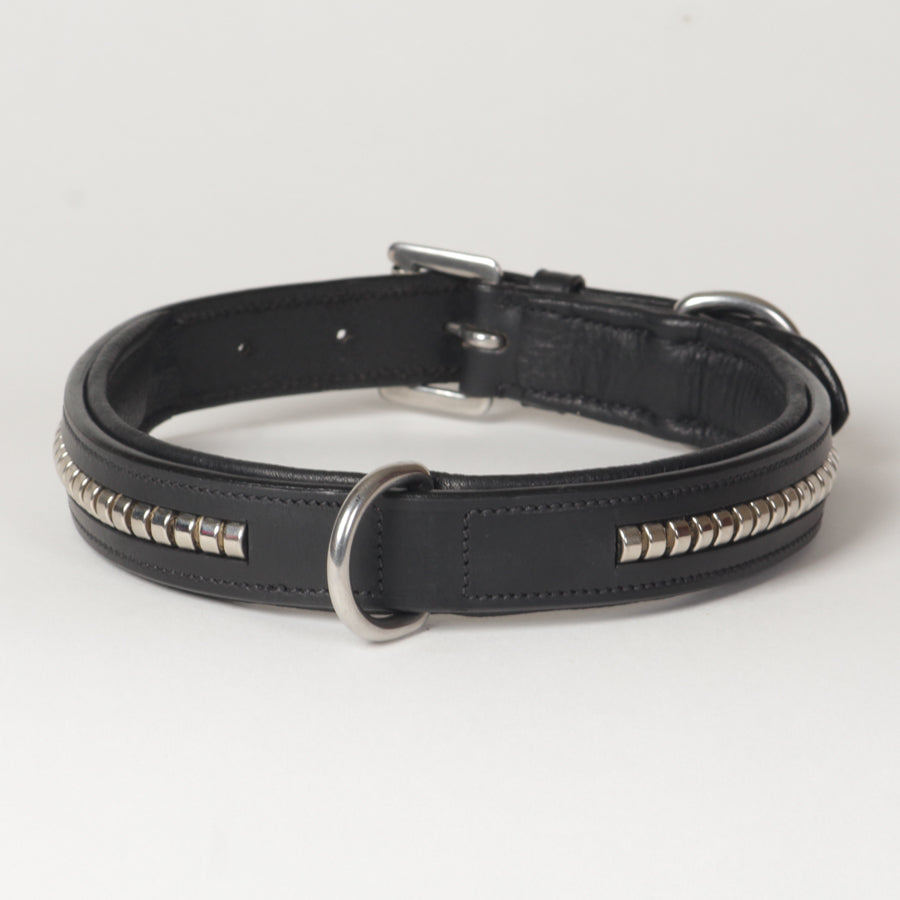 SIE Clincher Leather Dog Collars